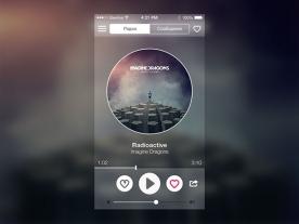 30个收音机app界面UI设计欣赏