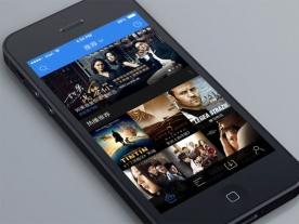 创意电影App应用UI设计